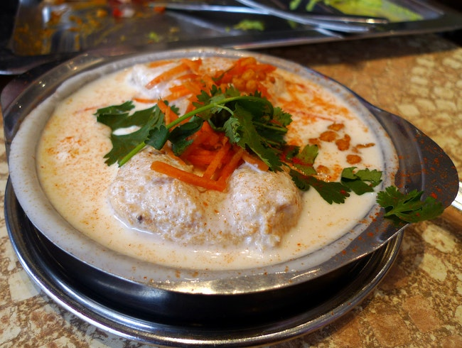 A taste of south India