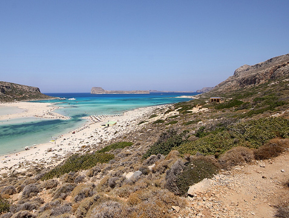Balos Beach and Lagoon Kissamos  Greece