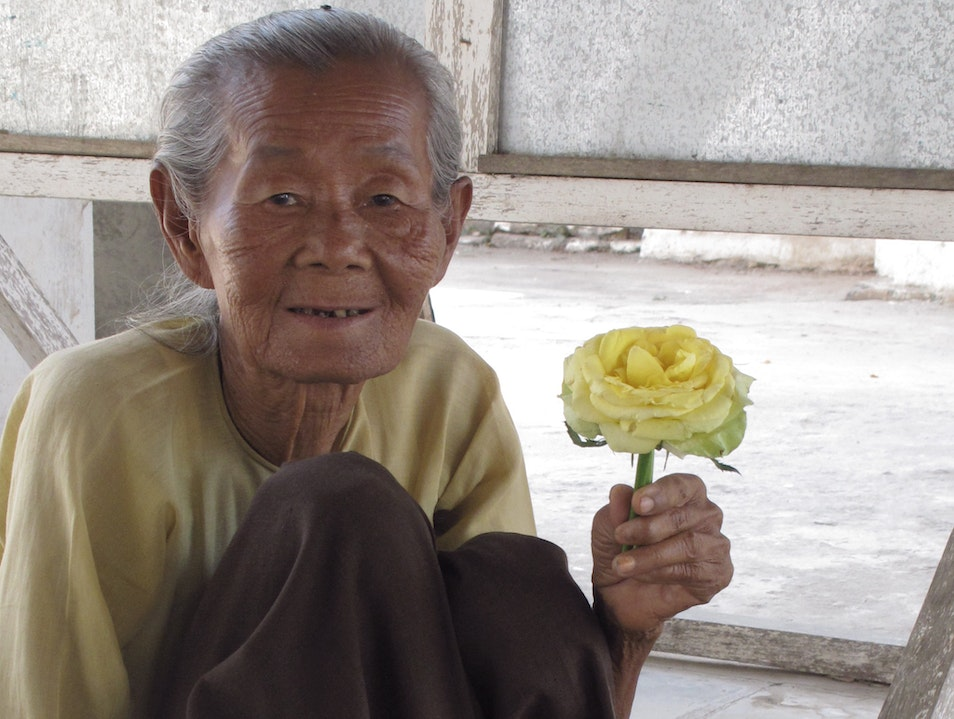 Selling flowers for offerings