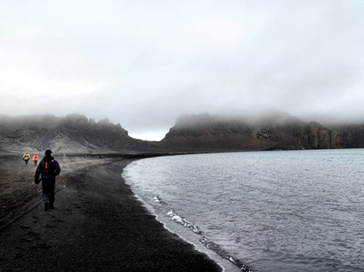 Deception Island   Antarctica