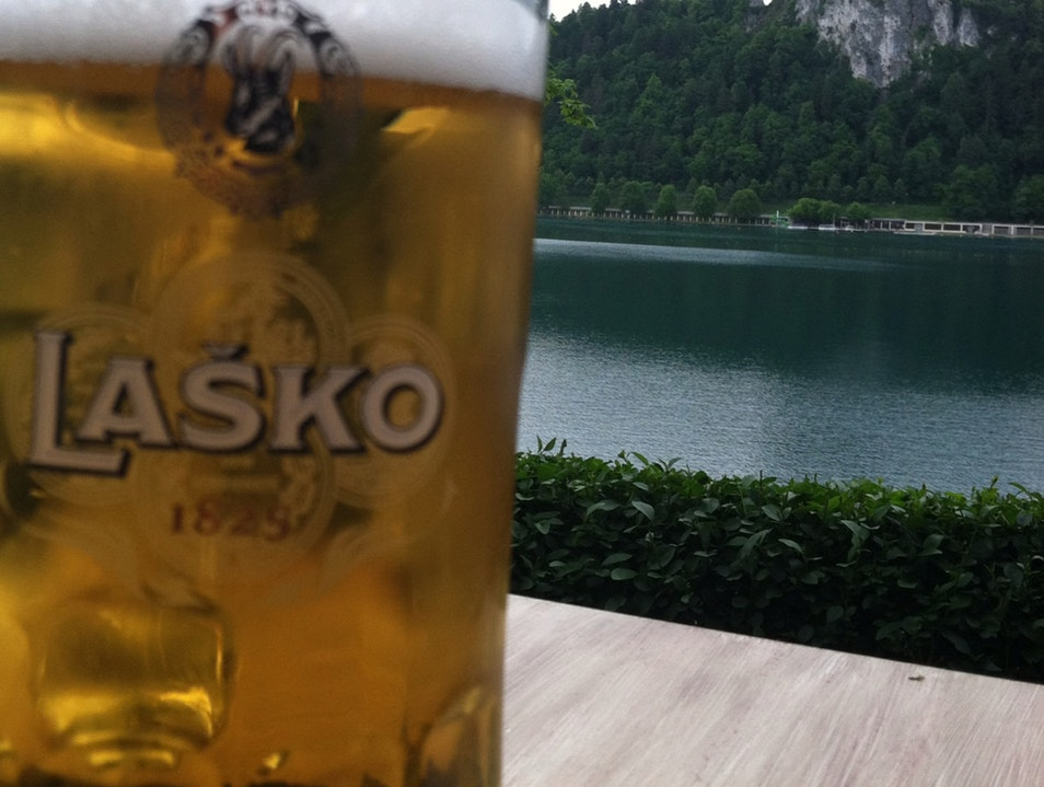 A Drink With A View Bled  Slovenia
