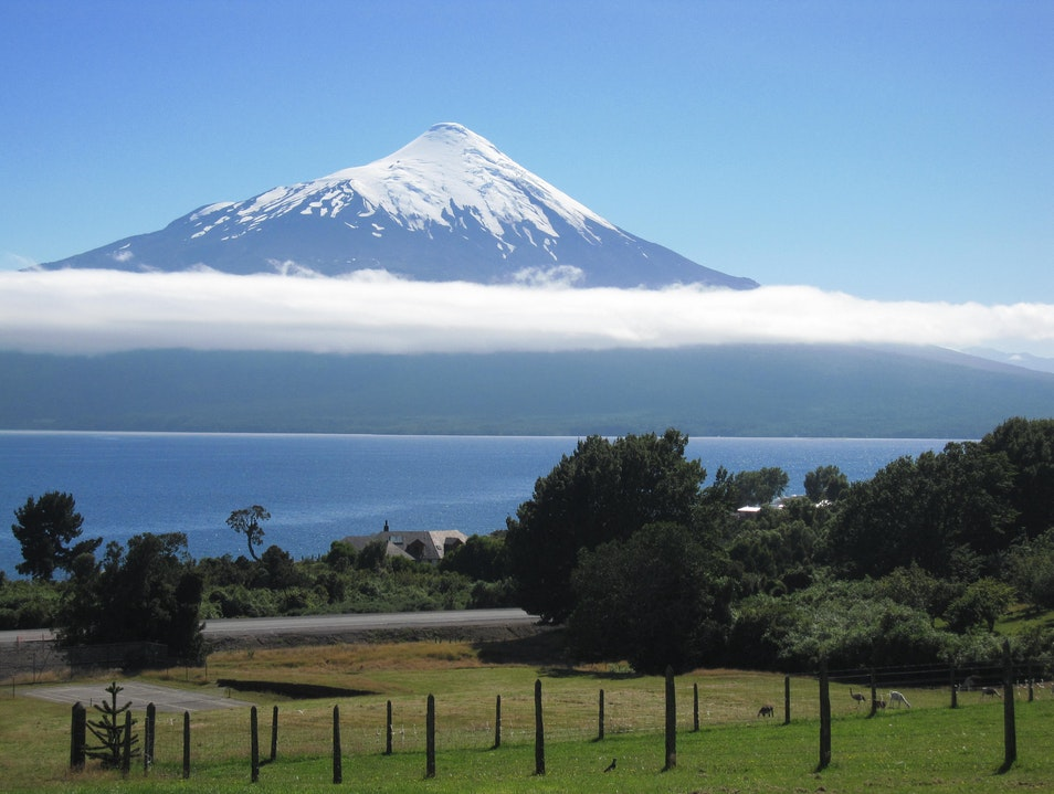 Perfect volcano Osorno  Chile