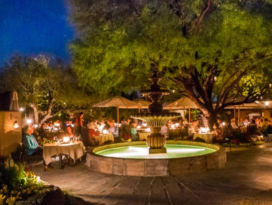 Best Romantic Outdoor Dining in Phoenix Scottsdale Arizona United States