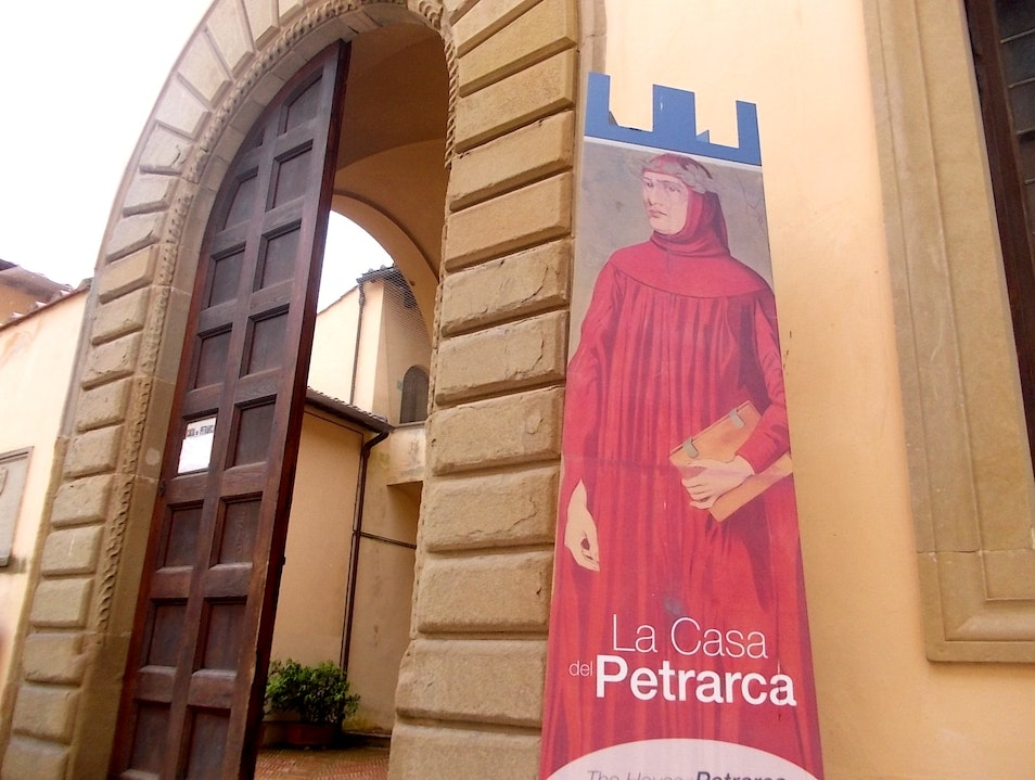 The Father of Humanism was born here! Arezzo  Italy