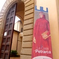Monument of Francesco Petrarca Arezzo  Italy