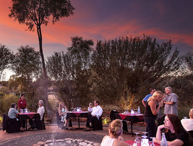 Dine Under the Desert Moon