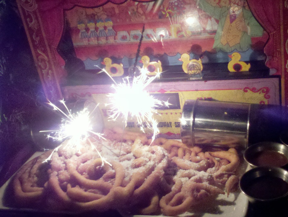 The Funnel Cakes Miami Beach Florida United States