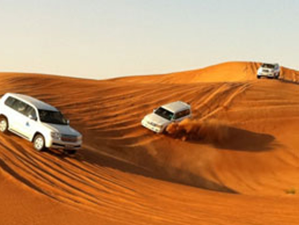 Dune Bashing Abu Dhabi  United Arab Emirates