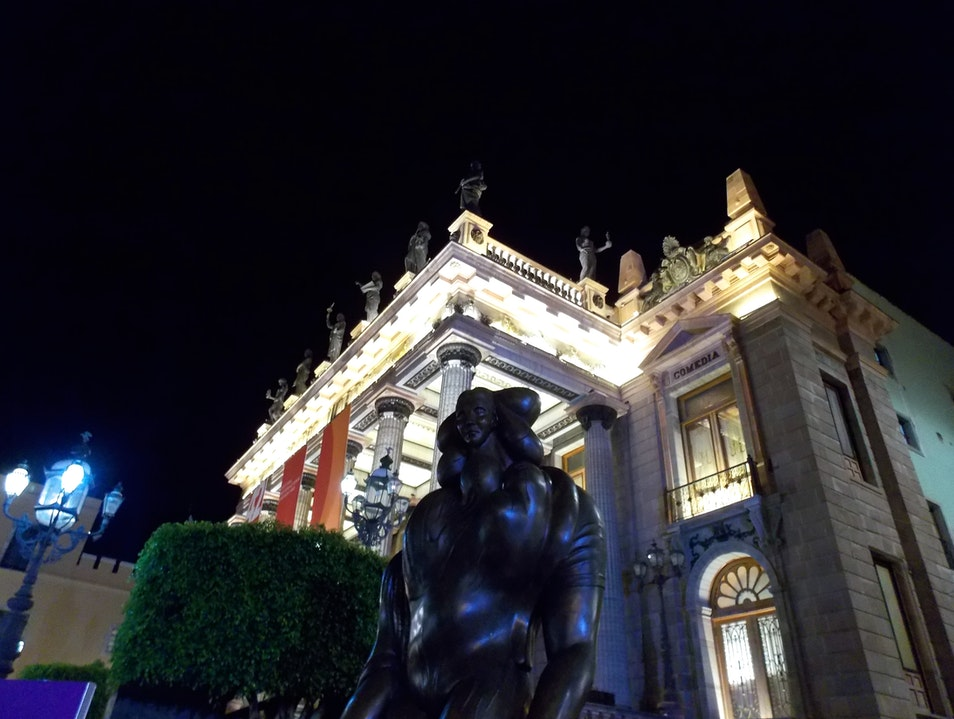 A Night at the Theater Guanajuato  Mexico