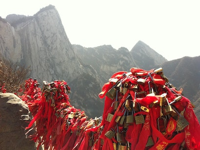 Huashan Mountain Weinan  China