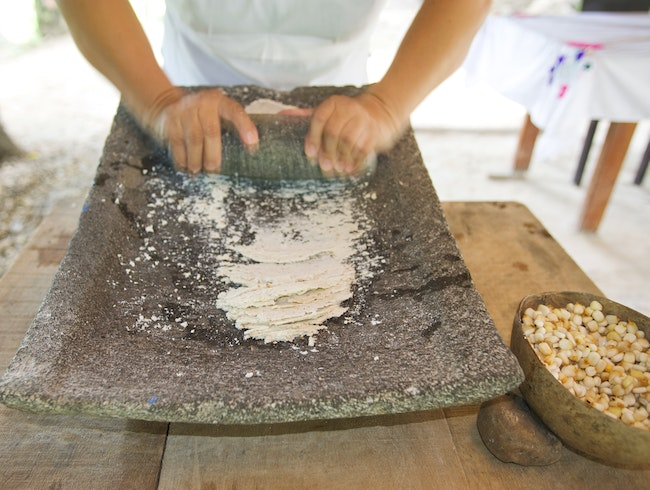 Traditional Maya Cooking Class