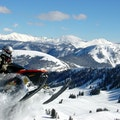 Park City Snowmobiling At Thousand Peaks Peoa Utah United States
