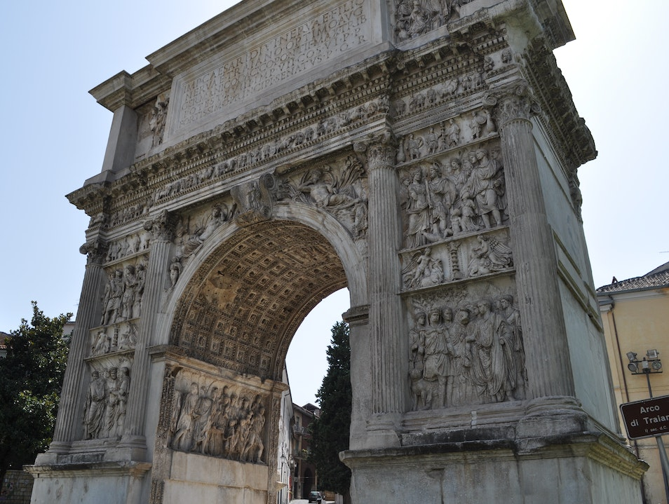 Arkitextures of Benevento - Arch of Trajan Benevento  Italy