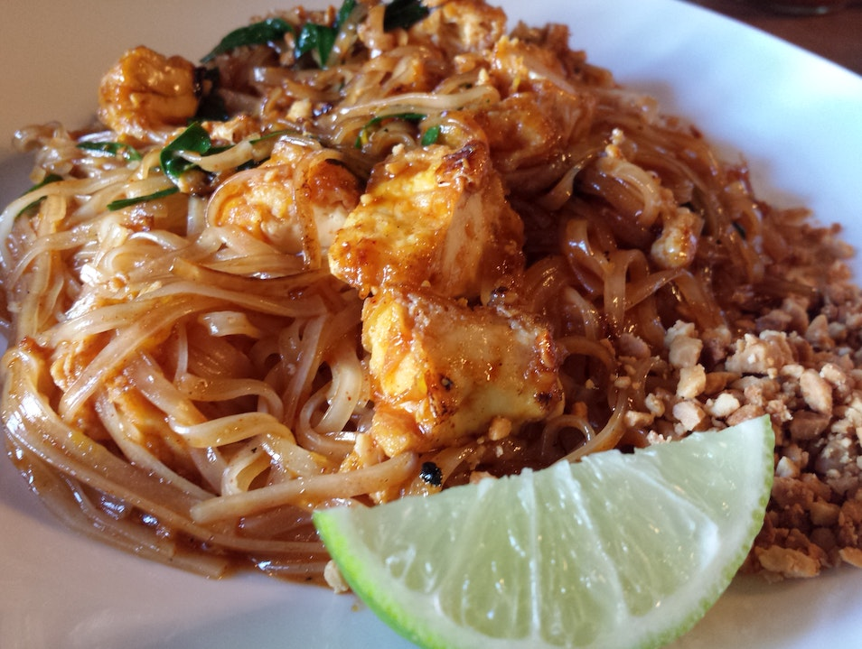 Modern Thai Food Restaurant Davis California United States