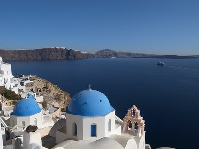 Santorini Island in Photos Exo Gonia  Greece