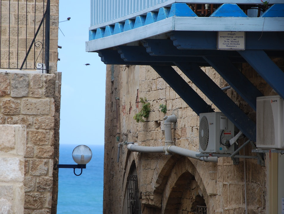 vacation for a day in Jaffa Tel Aviv  Israel