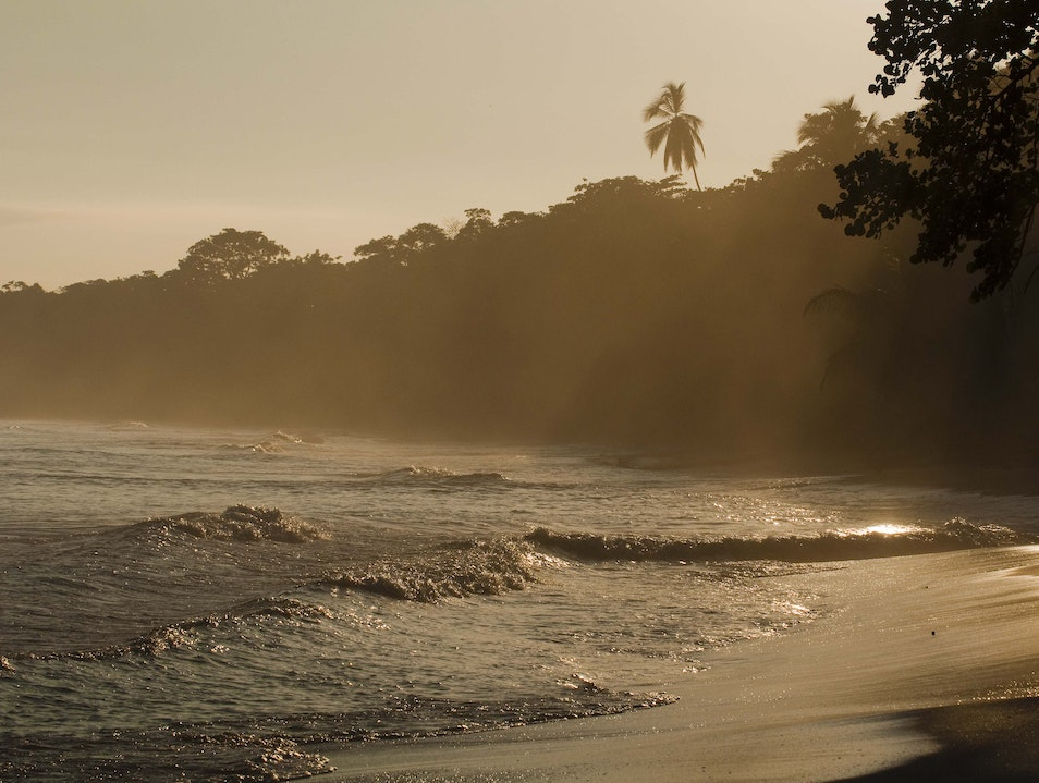 Tropical Sunrise Cahuita  Costa Rica