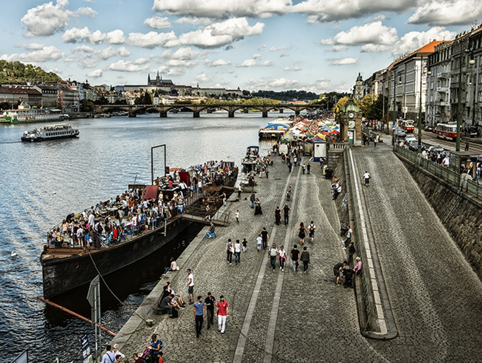 Hip Hangouts By the River Prague  Czechia