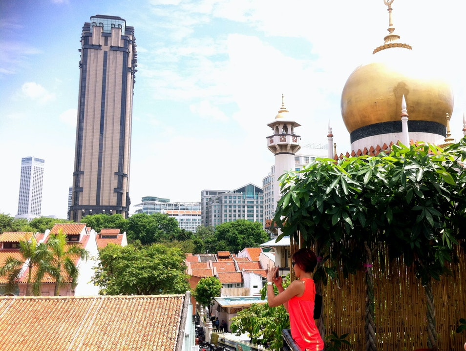 An Unusual View of Kampong Glam Singapore  Singapore