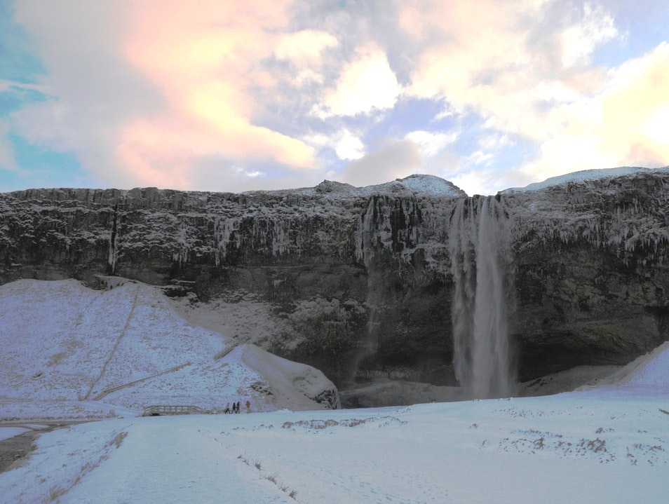 Seljalandsfoss Falls:  Try Saying That Three Times Fast South  Iceland