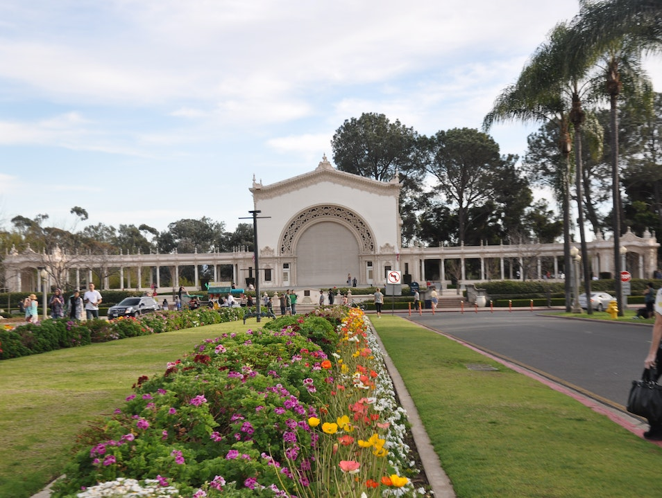 The Band Stand in Balboa Park San Diego California United States