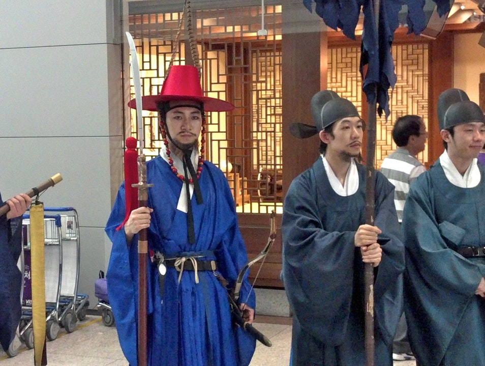 Great Airport for A Cultural Layover Incheon  South Korea