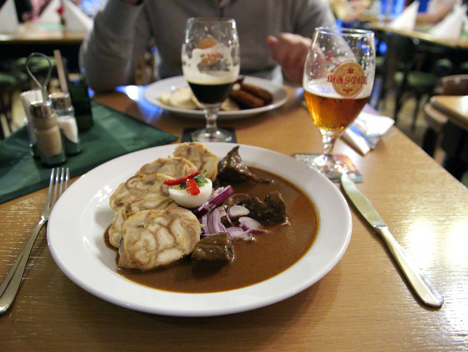 Incredible Czech Food Plzen  Czech Republic