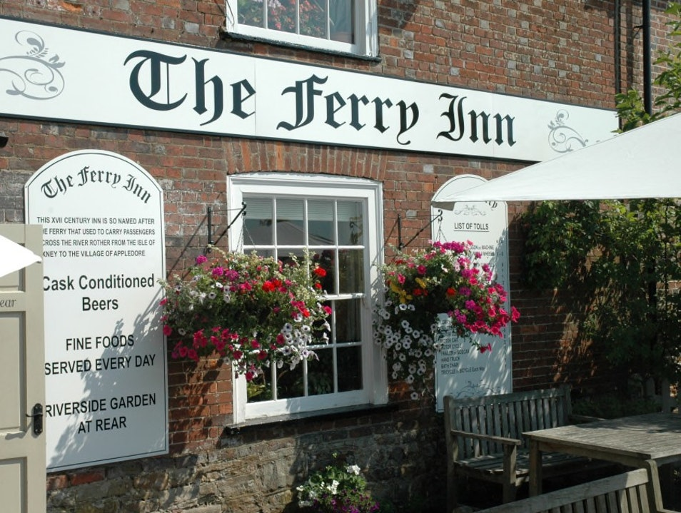 The Ferry Inn - Pubs and Restaurants in Kent Stone  United Kingdom