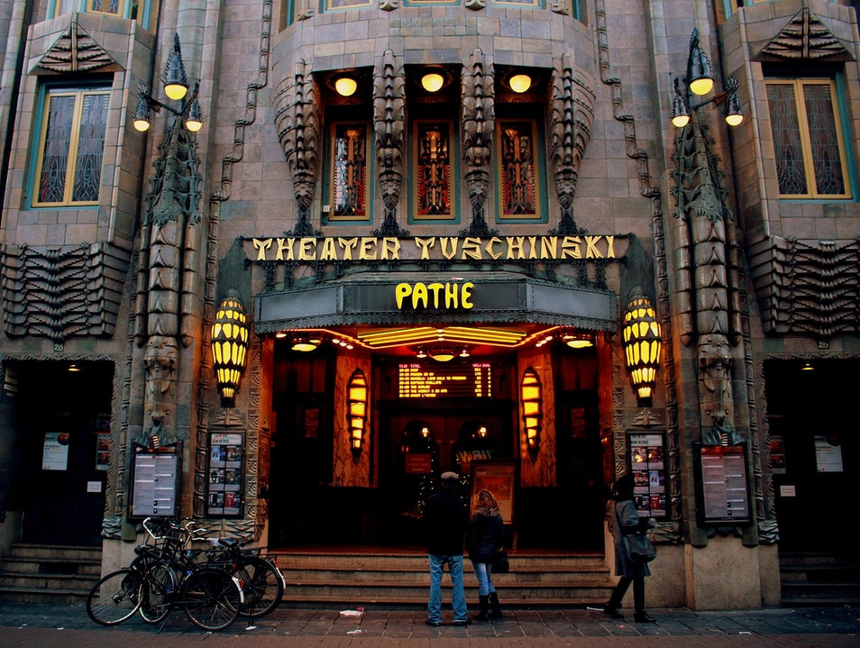 Date Night in an Art Deco Palace