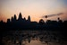 Sunrise over Angkor Wat Siem Reap  Cambodia