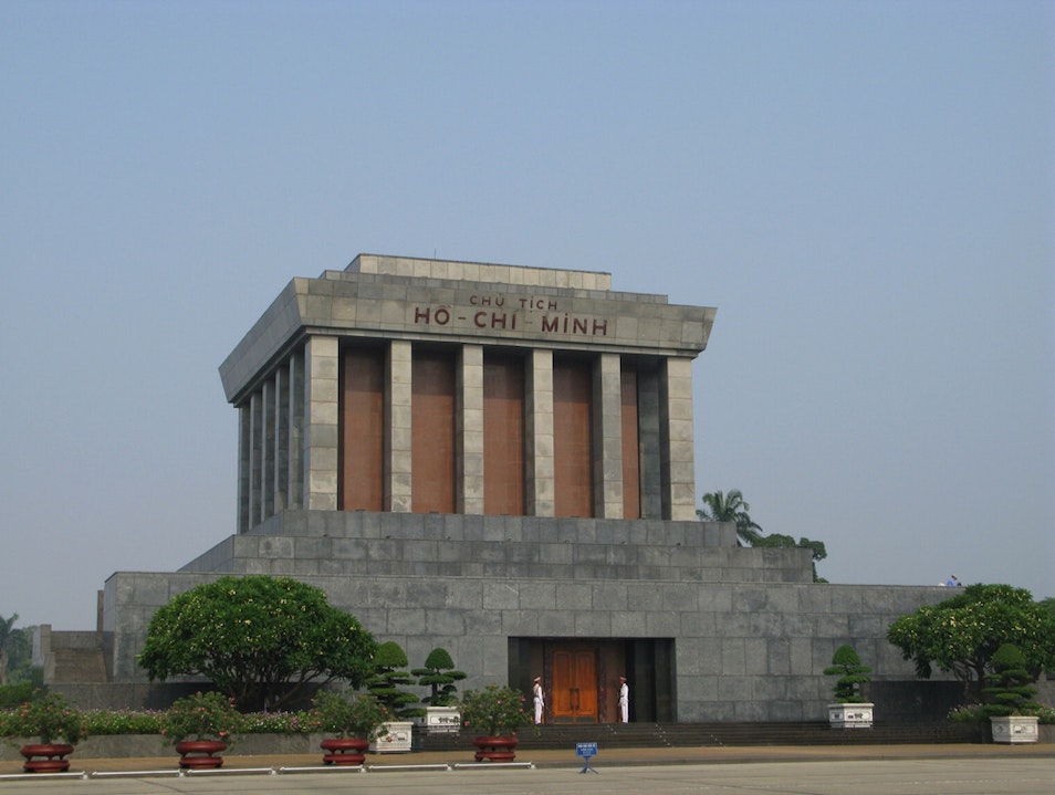 Mausoleum Of President Ho Chi Ming