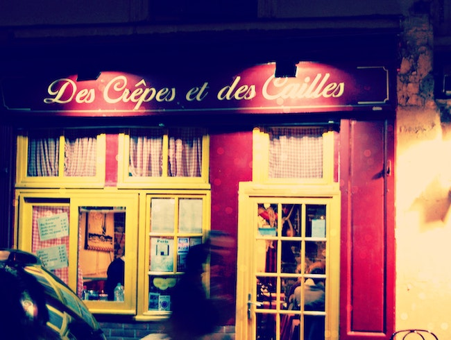 The Cosiest Crêperie in Paris