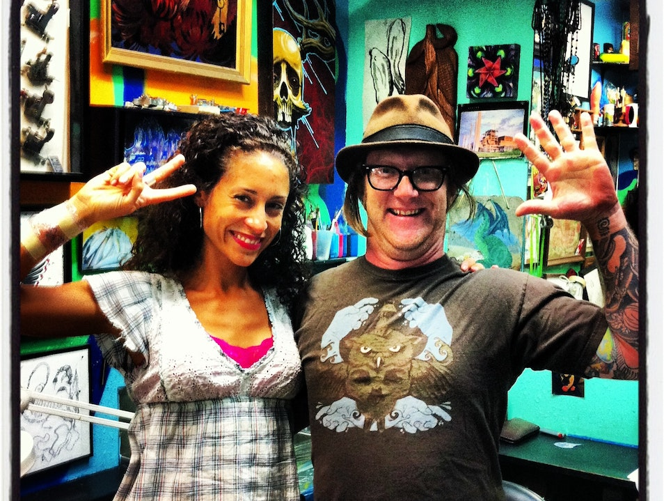 Inked in Austin, Texas with Noska