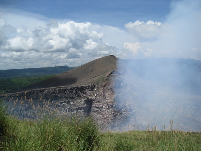 On The Volcanic Belt In Nicaragua