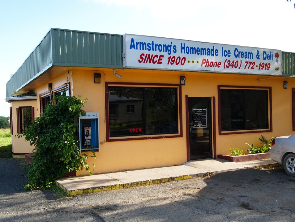 Stay Cool With Armstrong's Ice Cream Frederiksted  United States Virgin Islands