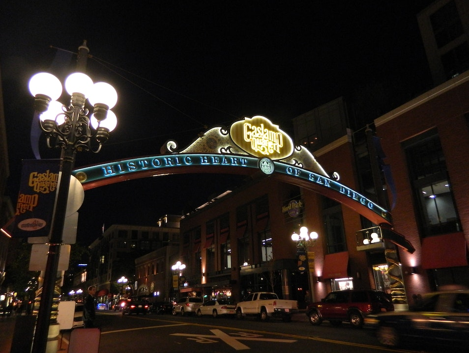 Party all night at the Gaslamp district