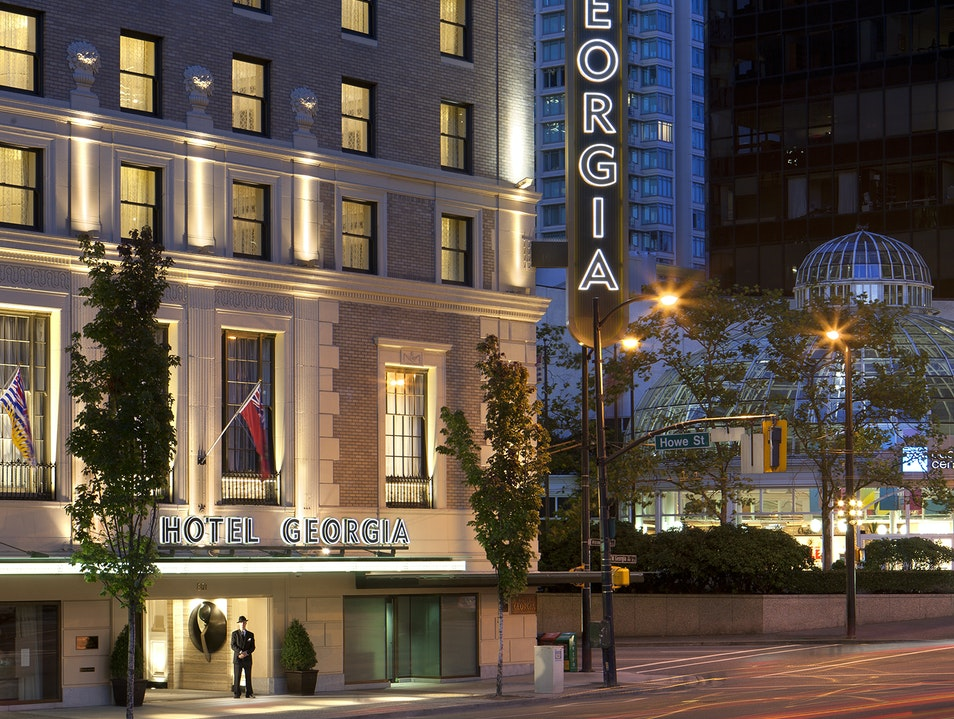 Vancouver's Rosewood Hotel Georgia Vancouver  Canada