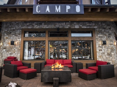 Campo Restaurant Mammoth Lakes California United States