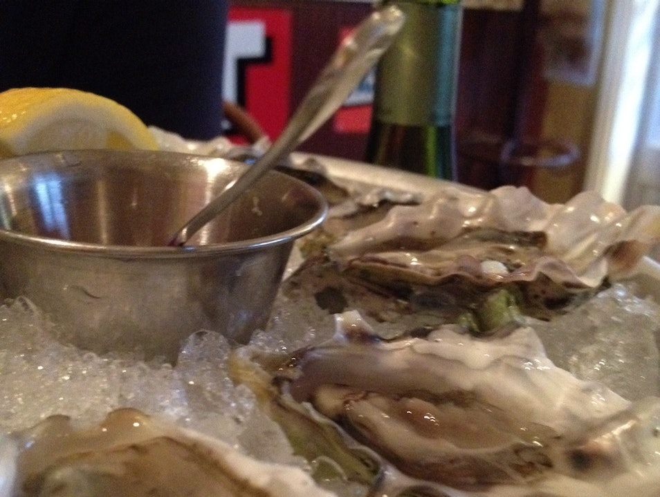 Dollar Oysters at Bistro Jeanty