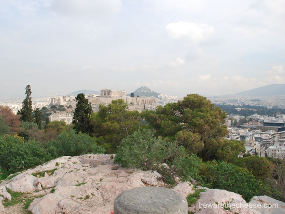 Athens Tips Part 22 - Pnyx and the Filopappou Hill Athens  Greece