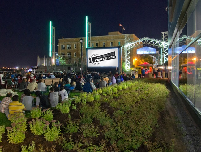 Watch Movies Under the Stars and Next to the Harbour