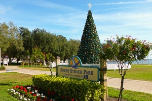 Christmas: North Straub Park