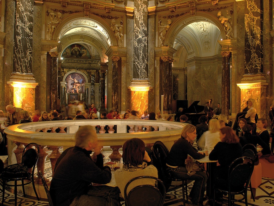 World-class art meets culinary delights Vienna  Austria