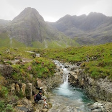 The Fairy Pools at Glen Brittle