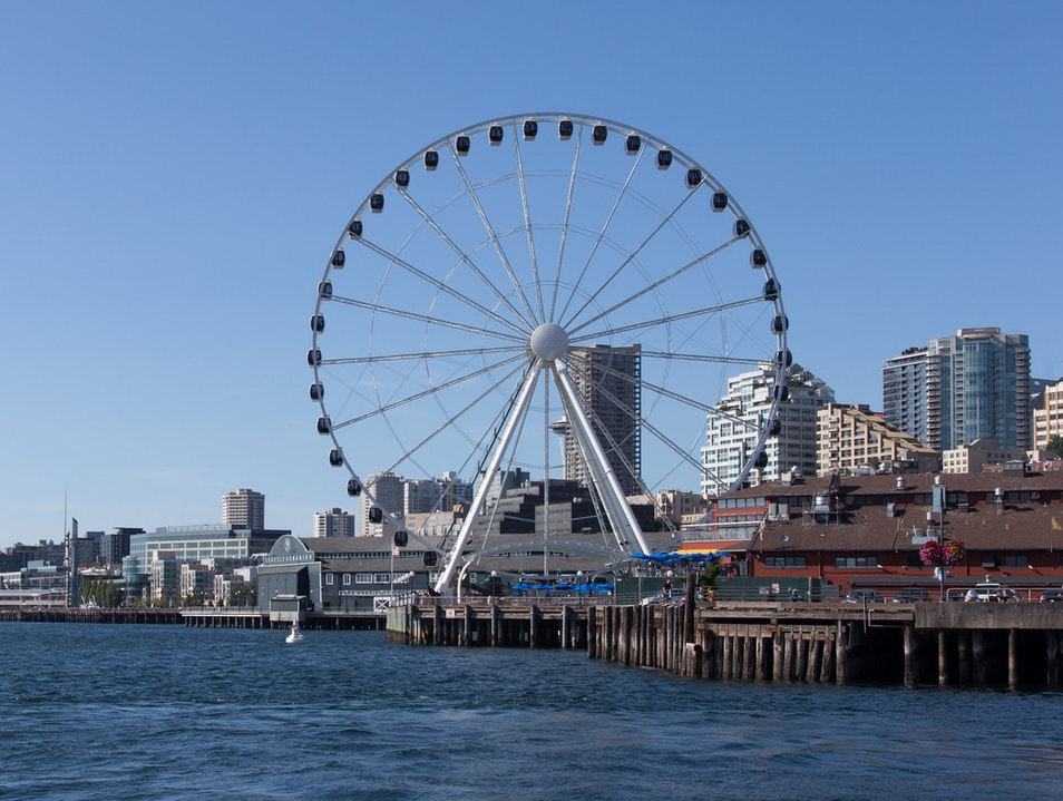 Seattle Great Wheel Seattle Washington United States
