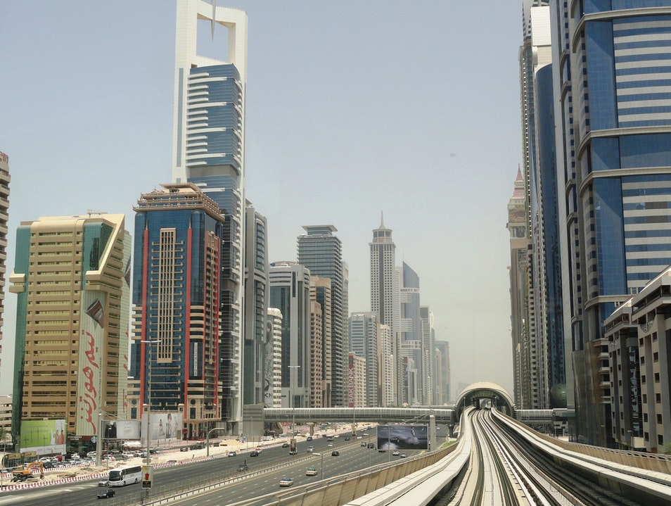 For a Unique View of Dubai, Take the Metro Dubai  United Arab Emirates