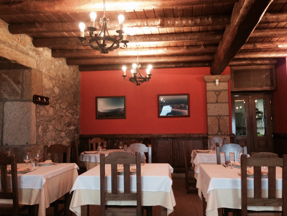 Feast on traditional seafood dishes with views of the beach Fisterra  Spain