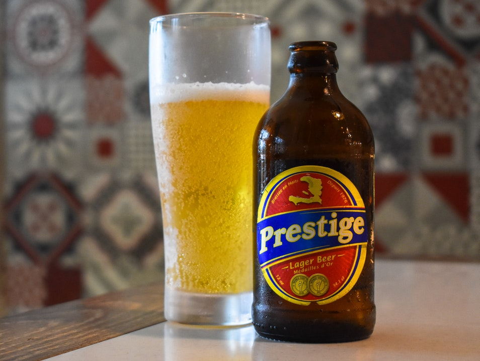 The Uniquely American Flavor of Haiti's Prestige Beer Port Au Prince  Haiti