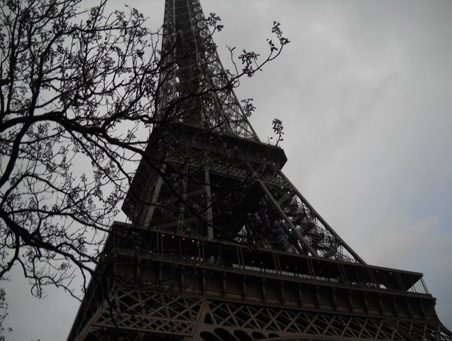 The Eiffel From a Different Angle