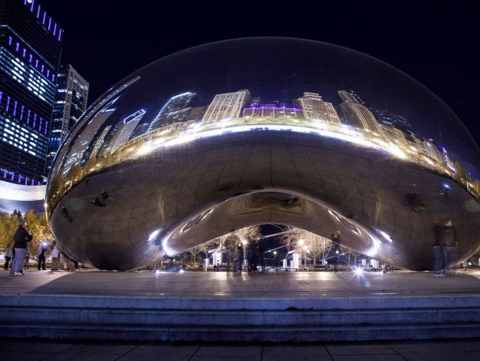 The Giant Bean Chicago Illinois United States